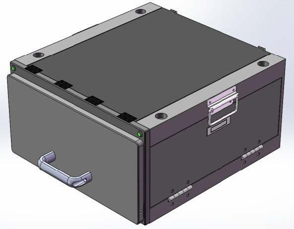 JC-PB3509汽动抽屉式屏蔽箱